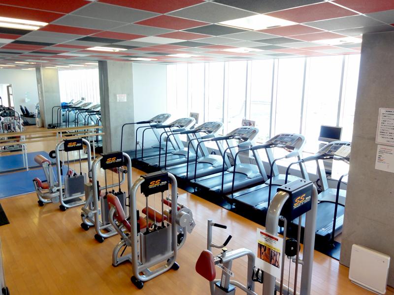 名古屋市中スポーツセンター軽運動室の地図